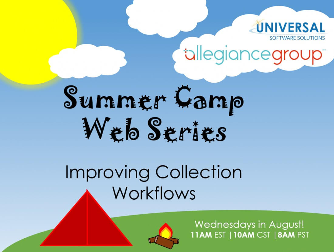 Summer Camp Web Series: Collections Policy Workshop - Events and Programs Offered by Universal Software Solutions - summer_camp_web_series_2019