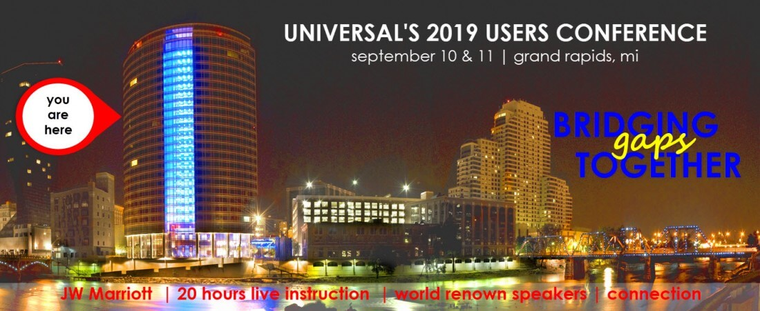 Users Conference 2019 - Universal Software Solutions